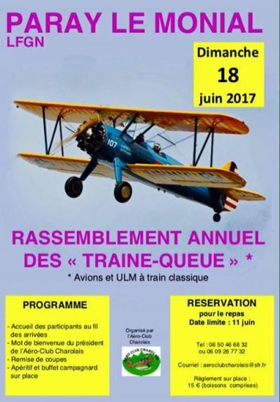 """Rassemblement Annuel des """"TRAINE-QUEUE"""""""