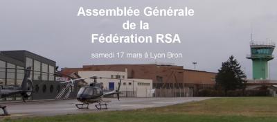 Assemblée Générale de la Fédération samedi 17 mars à Lyon Bron