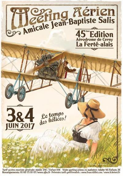 Meeting AJBS « Le Temps des Hélices » 2017