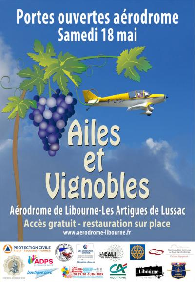Ailes et Vignobles - Libournes