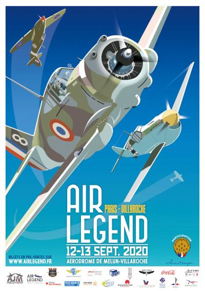 ANNULATION ! Paris-Villaroche AIR LEGEND - Melun