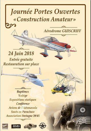 """Journée Portes Ouvertes """"Construction Amateur"""" - Aérodrome GUISCRIFF"""