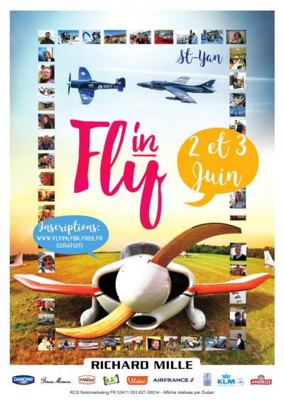 FLYIN et MEETING aérien à Saint YAN