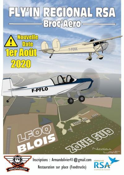 Nouvelle date ! FLY'IN Aéropassion/Rass. Régional Centre Val de Loire