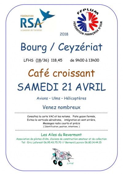 Café croissant 2018 - Bourg en Bresse