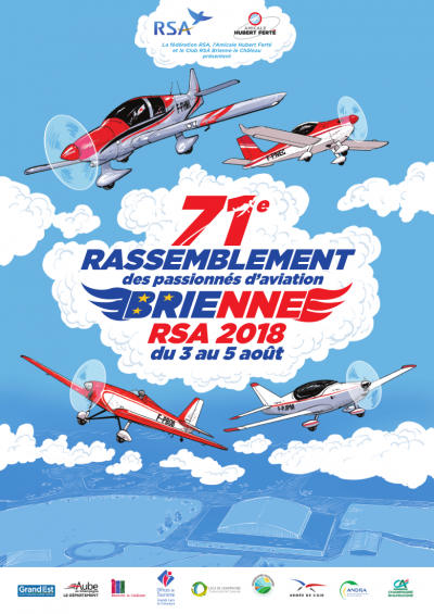 Euro Fly'In RSA Brienne 2018