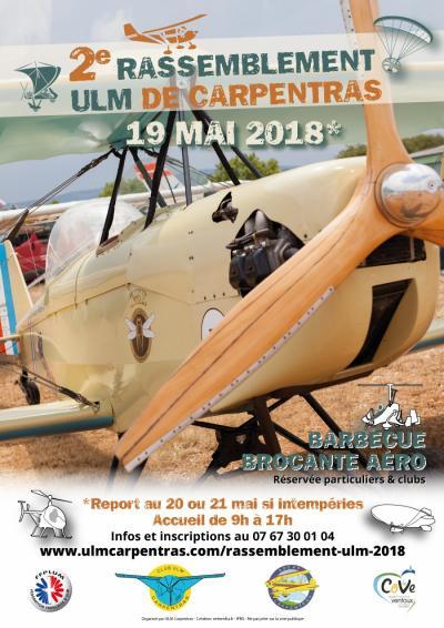2éme Rassemblement ULM de Carpentras et AG région Sud Paca