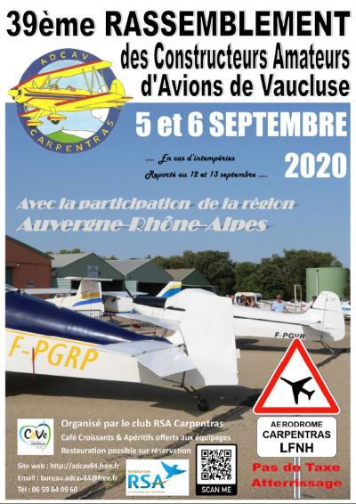 39ème Rassemblement RSA de Carpentras (LFNH)