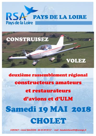 2ème Rassemblement RSA Régional de Cholet