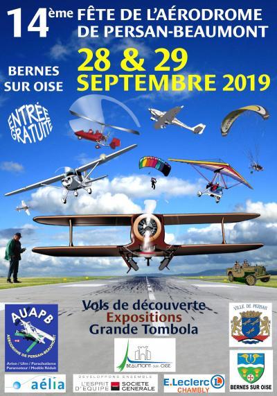 14ème Fête de l'aérodrome de Persan Beaumont