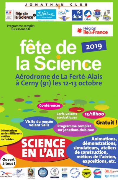 SCIENCE EN L'AIR - Cerny - La Ferté Alais
