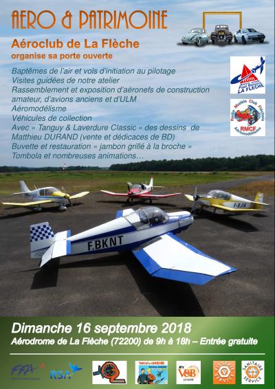Journée porte ouverte ACPM et 1er rassemblement régional RSA à La Flèche