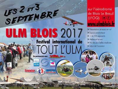 Festival international de l'ULM - BLOIS 2017