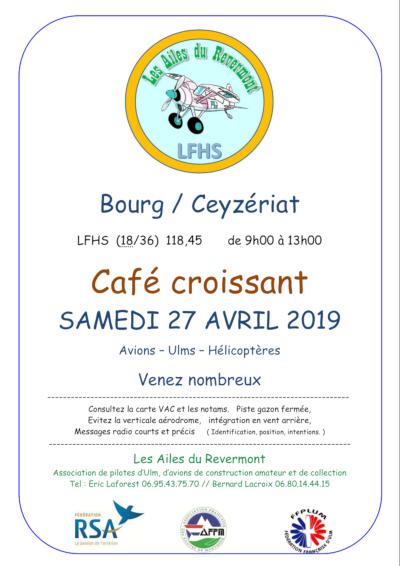 Café / Croissants à Bourg/Ceyzériat - LFHS