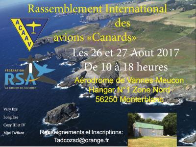 "Rassemblement international des ""Avions Canards"""