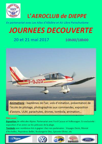 Journées découverte - Aéroclub de Dieppe