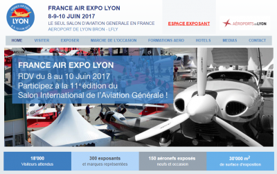 Le RSA au salon FRANCE AIR EXPO LYON