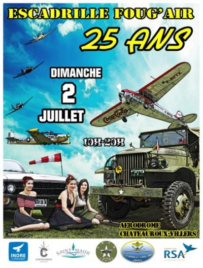 Escadrille FOUG'AIR - 25 ans