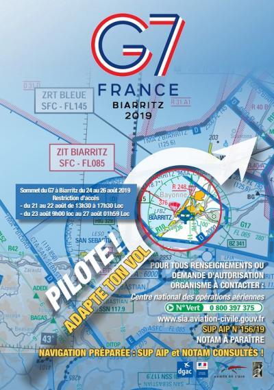 SOMMET EUROPÉEN du G7 Biarritz 21 au 27 août