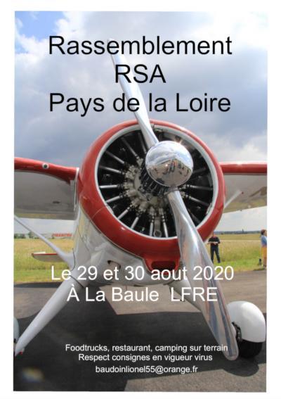 Rassemblement RSA Pays de la Loire - la Baule LFRE