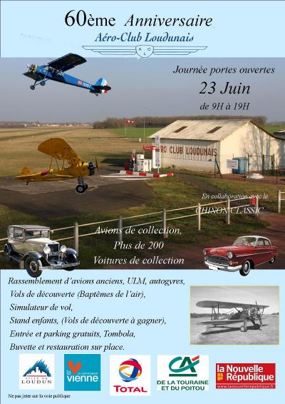 L'aéroclub Loudunais fête ses 60 ans