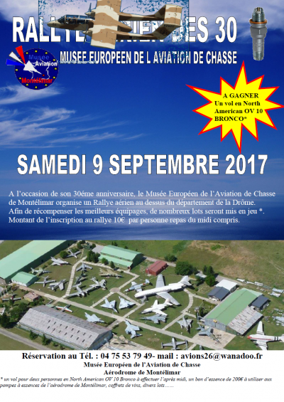 Rallye Aérien des 30 bougies - Montélimar