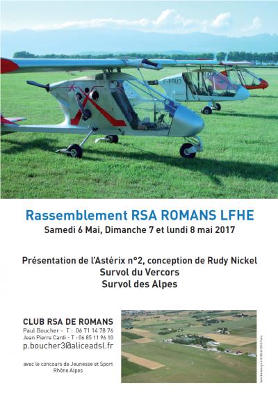Rassemblement RSA ROMANS LFHE