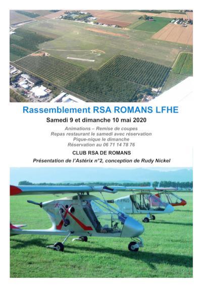 Rassemblement RSA ROMANS (LFHE)