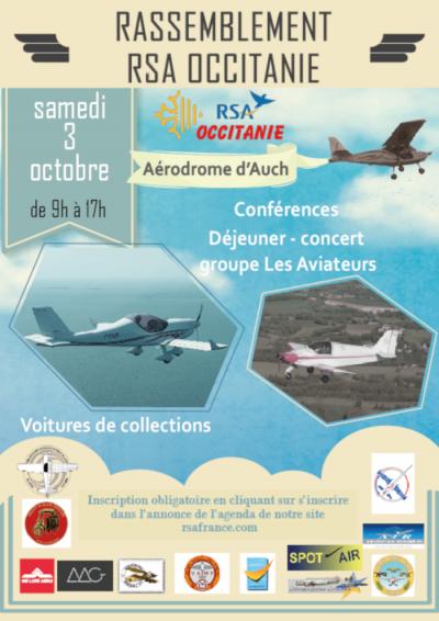 Rassemblement Régional RSA Occitanie - AUCH (LFDH)