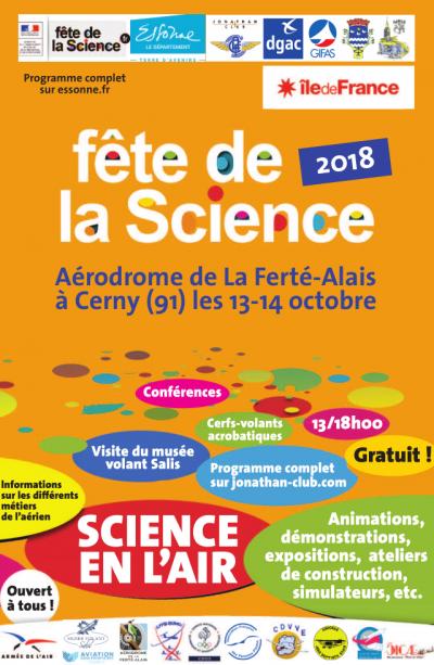 Fête de la Science 2018 - La Ferté-Alais