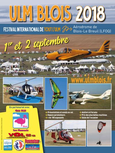 38ème Salon de l'ULM - Blois 2018