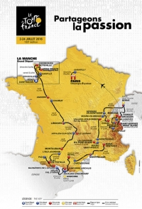 Tour de France cycliste 2016: restrictions de survol